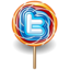 64x64px size png icon of twitter lolly