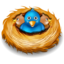 64x64px size png icon of twitter nest