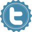 64x64px size png icon of twitter font