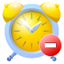 64x64px size png icon of alarm remove