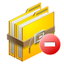 64x64px size png icon of archive remove