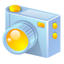 64x64px size png icon of digital camera