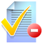 64x64px size png icon of todo list remove