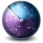 64x64px size png icon of Earth Scan