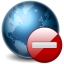 64x64px size png icon of Earth Stop