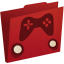 64x64px size png icon of games folder