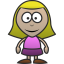 64x64px size png icon of Girl