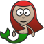 64x64px size png icon of Mermaid