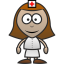 64x64px size png icon of Nurse
