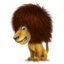 64x64px size png icon of lion