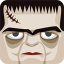 64x64px size png icon of frankenstein