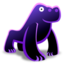 64x64px size png icon of Gorilla 128x128