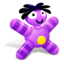 64x64px size png icon of Grape Doll