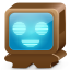 64x64px size png icon of monster brown