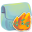 64x64px size png icon of Folder Burn