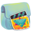 64x64px size png icon of Folder Movie