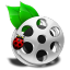 64x64px size png icon of File Movie
