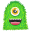 64x64px size png icon of Green Monster