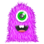 64x64px size png icon of Purple Monster