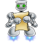 64x64px size png icon of robot documents