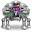64x64px size png icon of robot hal