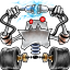 64x64px size png icon of robot network