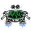 64x64px size png icon of robot screen settings