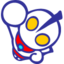 64x64px size png icon of Ultraman Blue