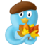64x64px size png icon of Fall leaves