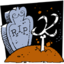 64x64px size png icon of graveyard