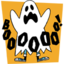 64x64px size png icon of spooky ghost