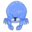64x64px size png icon of Crabby