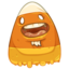 64x64px size png icon of Candy Corn Ken
