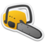 64x64px size png icon of Chainsaw