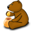 64x64px size png icon of I like honey