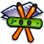 64x64px size png icon of Folder Applications