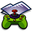64x64px size png icon of Folder Games