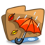 64x64px size png icon of Folder Autumn