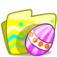 64x64px size png icon of Folder Easter