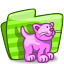 64x64px size png icon of folder cat