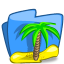 64x64px size png icon of folder summer