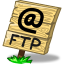 64x64px size png icon of location ftp