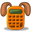 64x64px size png icon of system apps calculator