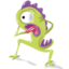 64x64px size png icon of monster02