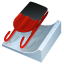 64x64px size png icon of luge