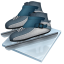64x64px size png icon of short track speed skating