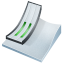 64x64px size png icon of ski jumping