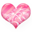 64x64px size png icon of Heart pink