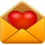 64x64px size png icon of email love