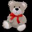 64x64px size png icon of TeddyBear RedRibbon